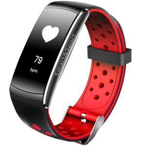 Bratara Fitness iUni Z11 Plus, Display OLED, Bluetooth, Pedometru, Monitorizare puls, Notificari, Android si iOS, Rosu