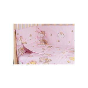 Prichindel Lenjerie ursuletul somnoros,roz 3 piese