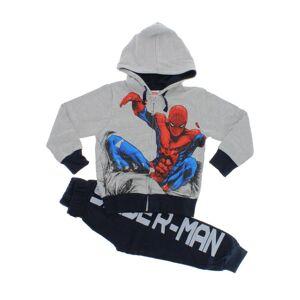 Prichindel Trening Spider-Man, gri cu bluemarin
