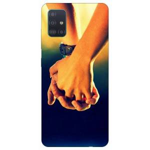 ART Husa Silicon Soft Upzz Print Samsung Galaxy A71 Model Together