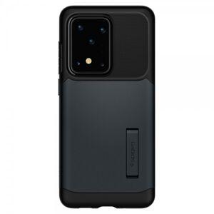Spigen Husa Originala Spigen Slim Armor Samsung Galaxy S20 Ultra ,Metal Slate