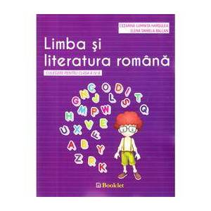 Booklet Limba romana - Clasa 4 - Culegere - Cezarina Luminita Hardulea, Elena Daniela Balcan, editura Booklet