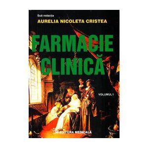 Nedefinit Farmacie Clinica Vol. I - Aurelia Nicoleta Cristea
