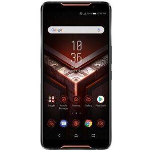 Asus Telefon Mobil ASUS ROG Phone ZS600KL, Procesor Octa-Core 2.96GHz / 1.7GHz, AMOLED Capacitiv Touchscreen 6inch, 8GB RAM, 128GB Flash, Dual 12+8MP, Wi-Fi, 4G, Dual Sim, Android (Negru)