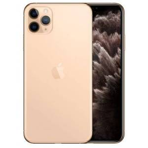 Apple Telefon Mobil Apple iPhone 11 Pro Max, OLED Multi‑Touch 6.5inch, 512GB Flash, Camera Tripla 12MP, Wi-Fi, 4G, iOS (Auriu)