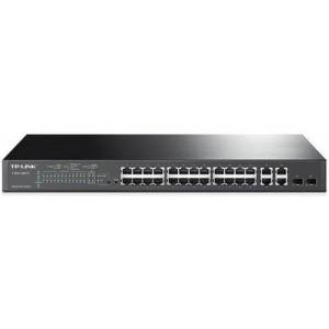 TP-Link Switch TP-LINK T1500-28PCT, 24 porturi 10/100Mbps, 4 porturi Gigabit, 2 porturi SFP