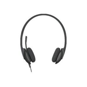Logitech Casti cu Microfon Logitech H340 (Negre)