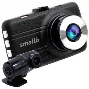 Camera auto Smailo DoubleX, Dual camera, Extreme HD/Full HD, Ecran 3inch, Microfon (Negru)