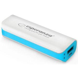 ESPERANZA Acumulator extern Esperanza Joule EMP103WB, 2200 mAh, 1 USB (Alb/Albastru)