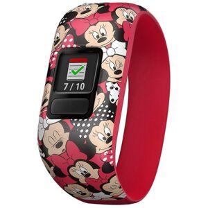 Garmin Bratara Fitness Garmin Vivofit Jr.2, Bratara elastica, Minnie Mouse, Bluetooth (Rosu)