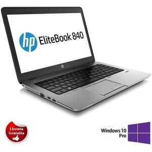 HP Laptop Refurbished HP EliteBook 840 G1 (Procesor Intel® Core™ i5-4200U (3M Cache, up to 2.60 GHz), Haswell, 14.1inch, 4GB, 128GB SSD, Intel® HD Graphics 4400, Win10 Pro)