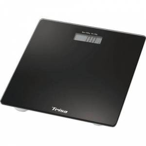 Trisa Cantar electronic Trisa Perfect Weight 1858.42, 150 Kg (Negru)