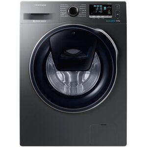 Samsung Masina de spalat rufe Samsung Eco Bubble WW90K6414QX, 1400 RPM, 9 kg, Clasa A+++ (Inox)