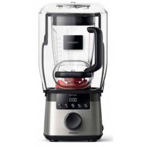 Philips Blender Philips Avance Collection HR3868/00, 2000W, 2.2l (Argintiu/Negru)