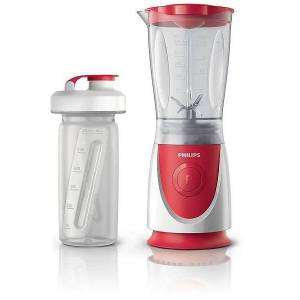 Philips Blender Philips HR2872/00, 350W, 0.6l (Alb-Rosu)