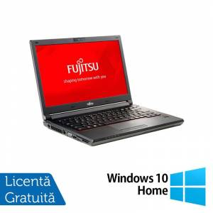 Fujitsu Siemens Laptop Fujitsu Lifebook E746, Intel Core i3-6100U 2.30GHz, 8GB DDR4, 240GB SSD, 14 Inch, Webcam + Windows 10 Home