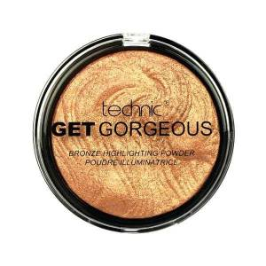 Technic Iluminator cu particule aurii Technic Get Gorgeous Highlighting Powder 24CT Gold 12g
