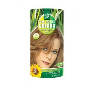 HennaPlus Vopsea de Par HennaPlus Long Lasting Colour Medium Golden Blond 7.3