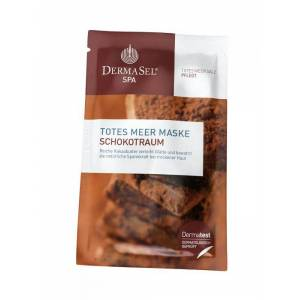 DermaSel Masca de Fata Antirid DermaSel SPA cu Unt de Cacao 12 ml