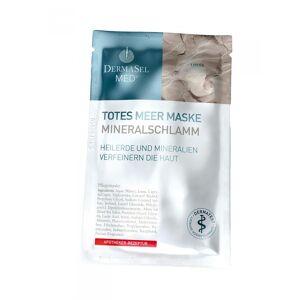 DermaSel Masca de Fata pe Baza de Namol Mineral DermaSel MED 12 ml