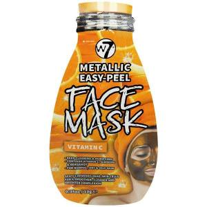 W7 Masca Metalica cu Vitamina C W7 Metallic Easy Peel Face Mask 10 g