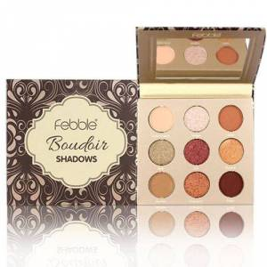Febble Paleta farduri Febble Boudoir Shadows Palette 9 Colors 02