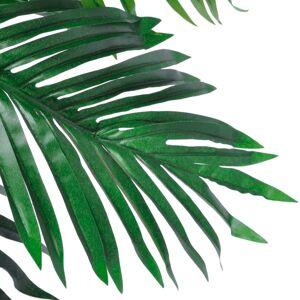 vidaXL Cocotier artificial cu ghiveci, 140 cm