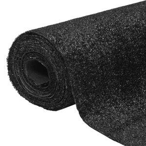 vidaXL Gazon artificial 1 x 5 m / 7-9 mm Negru