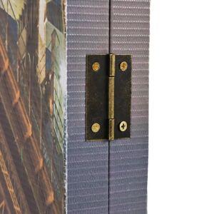 vidaXL Paravan de cameră pliabil, 160 x 170 cm, Sydney Harbour Bridge