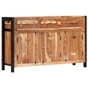vidaXL Servantă, 120 x 35 x 75 cm, lemn masiv de acacia