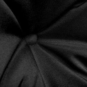 vidaXL Pernă pentru balansoar, negru și gri, 120 cm, material textil