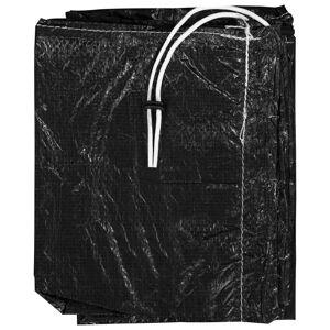 vidaXL Husă de umbrelă cu fermoar, 250 cm, PE