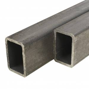vidaXL Tuburi din oțel structural 2 buc, dreptunghiular 2m, 60x40x3 mm