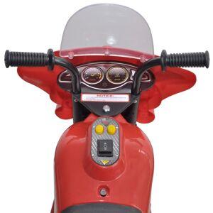 vidaXL Motocicletă de jucărie electrică Roșu