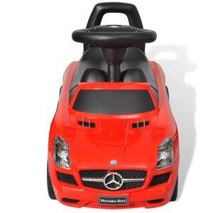 vidaXL Mașină pentru copii fără pedale Mercedes Benz Roșu