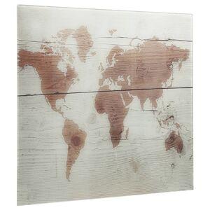 vidaXL Tablă magnetică de perete, 60 x 60 cm, sticlă
