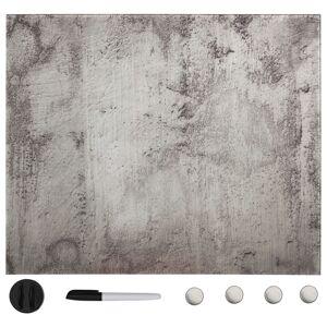 vidaXL Tablă magnetică de perete, 50 x 50 cm, sticlă