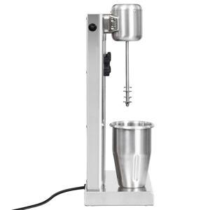 vidaXL Mixer de milkshake cu 2 vase, oțel inoxidabil, 2 L