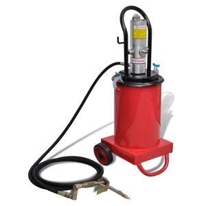 vidaXL Dispozitiv de ungere pneumatic 12 L