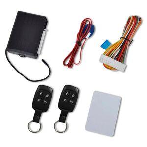 vidaXL Kit universal închidere centralizată auto cu 2 telecomenzi chei