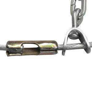 vidaXL Lanțuri pentru cauciucuri de iarnă 2 buc. 12 mm KN 110
