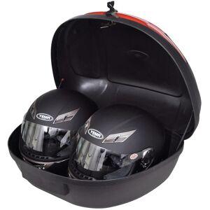 vidaXL Cutie portbagaj moto 72 l pentru 2 căști