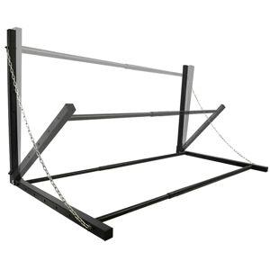 ProPlus Stativ pentru anvelope, montat pe perete, negru, oțel