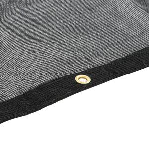 vidaXL Plasă de container, negru, 4 x 9 m, HDPE