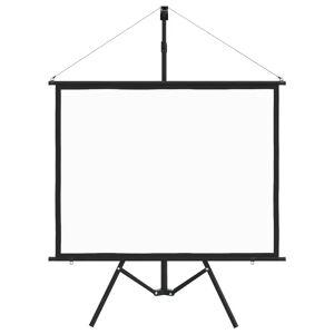 vidaXL Ecran de proiecție cu trepied 50