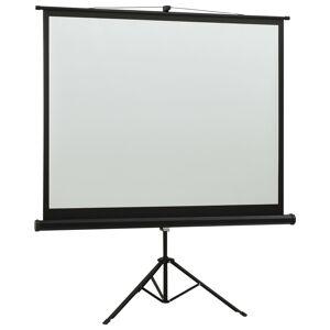 vidaXL Ecran de proiecție cu suport 57