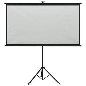 vidaXL Ecran de proiecție cu trepied 100