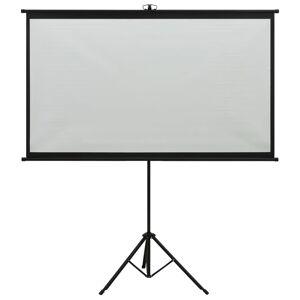 vidaXL Ecran de proiecție cu trepied 72