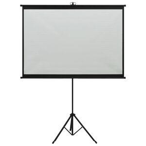 vidaXL Ecran de proiecție cu trepied 47