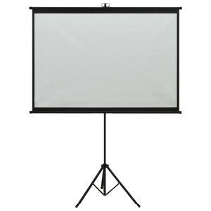 vidaXL Ecran de proiecție cu trepied 63